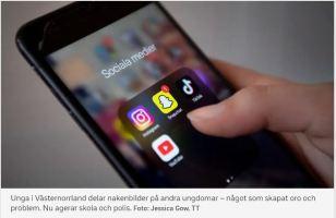 Snapchat och delning av bilder